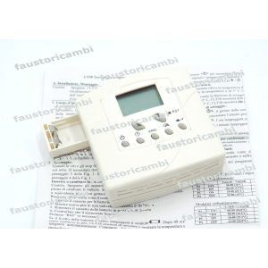CHRONOTHERMOSTAT LCD PROGRAMMABLE THERMOSTAT LT38 240V