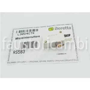 BERETTA MICROINTERRUTTORE SANITARIO R8469 R01005177 8447 CALDAIA IDRA EXCLUSIVE